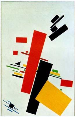 Malevich Suprematism 1915