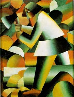 russian cubism art